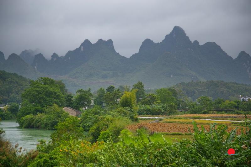 Landscape of Cao Bang