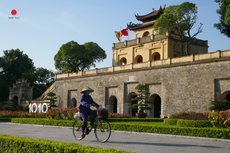 The main entrance of Thang Long Imperial Citadel