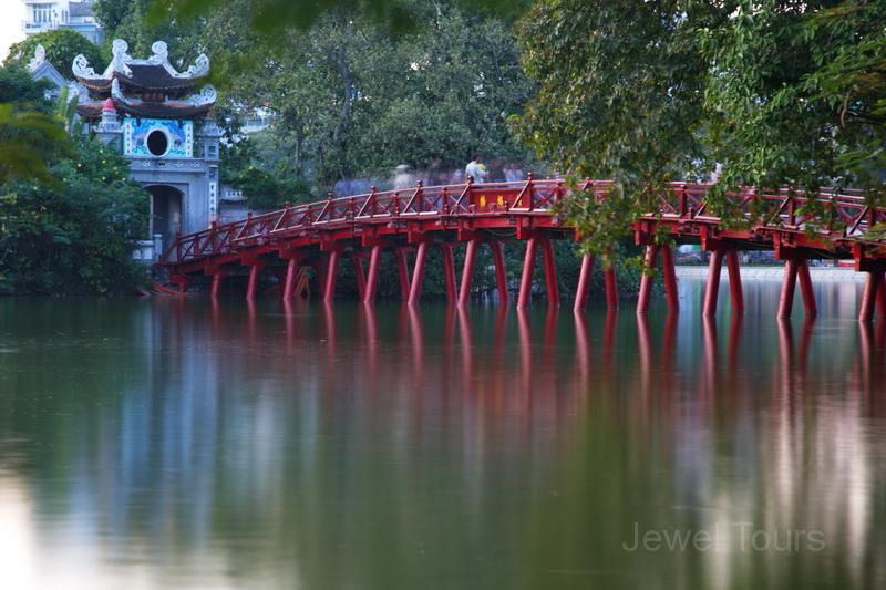 Ngoc Son temple in Hanoi