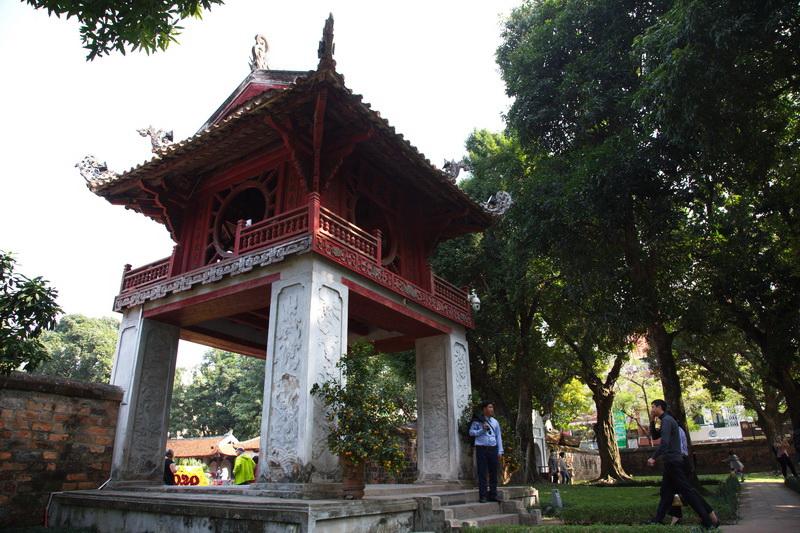 Temple of Literature in Hanoi